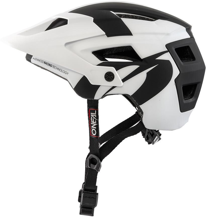 1fd61b38e7e37 ONeal Defender 2.0 casco per bici bianco nero su Bikester